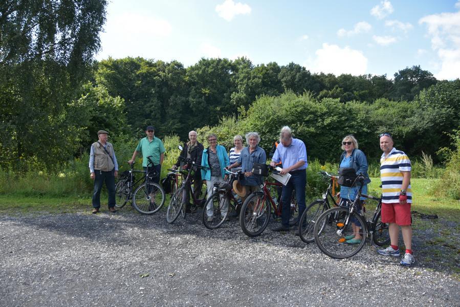 VERENA Fahrradtour zum Sonnenhaus in Freckenhorst am 6.8.2017 / Bilder der Tour